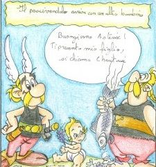 asterix-et-obelix-revisites-par-les-eleves-de-seconde-en-italien
